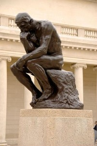 The Thinker Sculpture